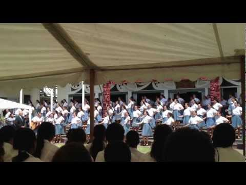 Analeah- Powhiri for new students at Hato Hohepa HB