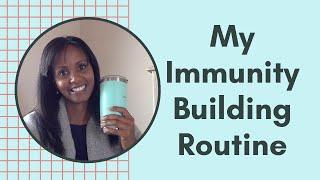 My Personal Daily Immunity Routine | Jovanka Ciares