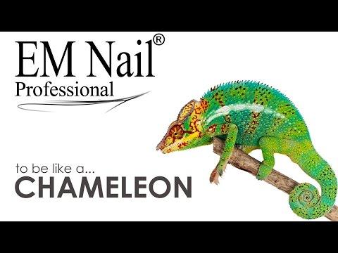 EM Nail Lakiery Hybrydowe Przegląd Kolorów Seria Chameleon