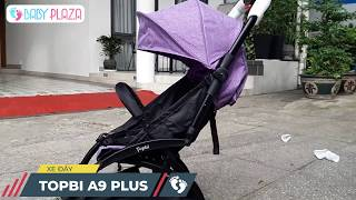 Xe đẩy TOPBI A09 Plus cao cấp của Đức | Baby Plaza