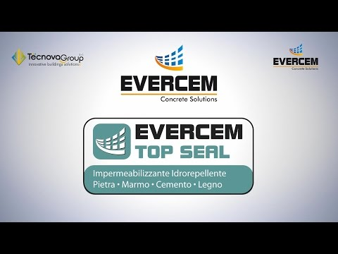 Evercem Top Seal impermeabilizzante, idrorepellente, pietra, marmo, cemento, legno.