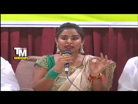 Sri Reddy Gives Strong Warning To Telugu Film Industry