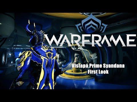 Warframe: Vistapa Prime Syndana First Look | Free Prime w/Prime Promo