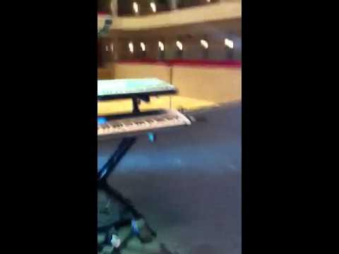Unseen footage! Soundcheck Adrian Vandenberg 2011