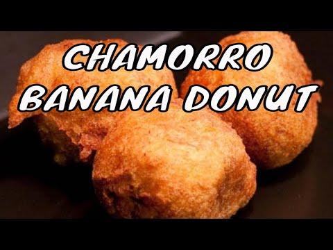 Bonelos aga or Guam banana doughnuts