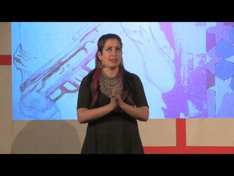 Lover, lay down your guns: Zena el Khalil at TEDxLSE