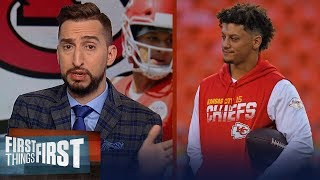 Chiefs can be the 1 seed & return to best team in AFC with Mahomes — Nick | NFL | FIRST THINGS FIRST