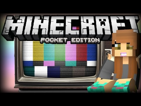 [0.14.0] WORKING TV TRICK w/ PAINTINGS in MCPE!! - Minecraft PE (Pocket Edition)