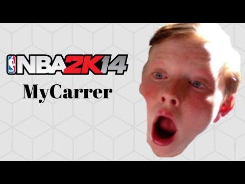 A RIVALRY IS BORN! | NBA 2K14 Throwback MyCareer #1