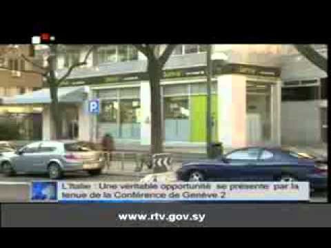 Le bulletin d'information sur Syrian TV, 16/05/2013