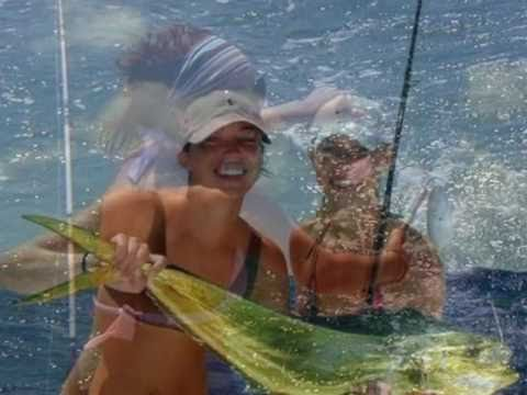 Let's Go Fishin' Ladies - June Bug Sportfishing From Beach Haven - NJ.wmv