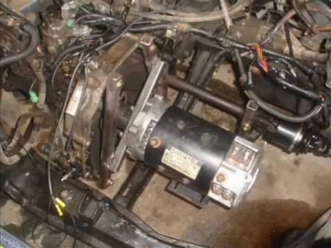 Small Budget Honda Accord Electric Conversion Youtube