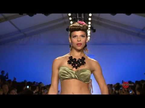 Nicolita - Mercedes-benz Fashion Week Swim 2013 Runway Bikini Swimsuit Models Show video