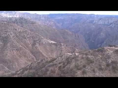 Cable Car Ride in the Copper Canyon, Mexico