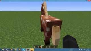 Hoe rijd je op een paard in minecraft?