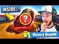What's INSIDE the *METEOR* in Fortnite: Battle Royale...?