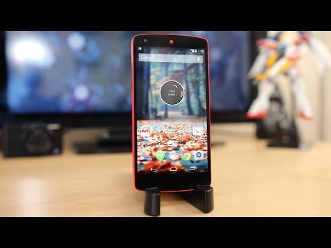Bright Red Nexus 5 Review