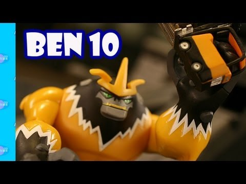 Ben 10 Omniverse Toys Wave 1 Review Unboxing