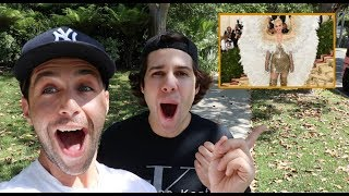 REACTING TO MET GALA OUTFITS with David Dobrik and Jason Nash!