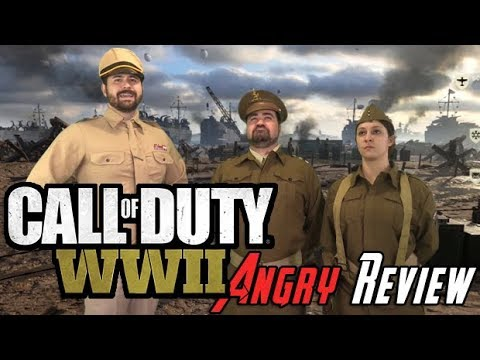 Call of Duty WWII Angry Review