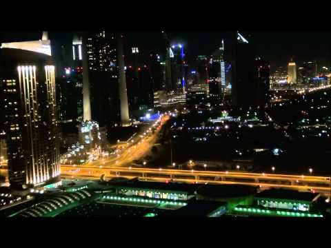 200th Video - Supercar Garage + Dubai Night Skyline Full HD!!!