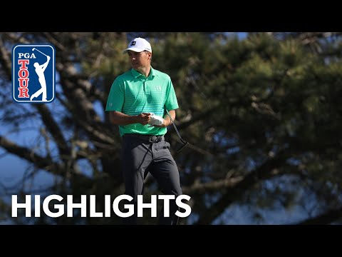 Jordan Spieth shoots 2-under 70 | Round 1 | Farmers 2020