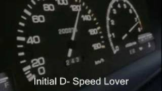 Initial D- Speed Lover
