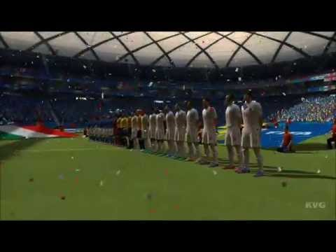 2014 FIFA World Cup Brazil - England vs Italy Gameplay [HD]