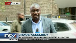 Nairobi County MCAs clash over budget allocation