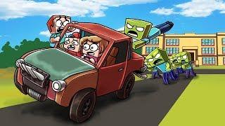 Minecraft   ESCAPE THE ZOMBIE SCHOOL - Escape Challenge! (Zombie School)