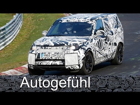 All you need to know on the all-new Land Rover Discovery 5 - with spy video