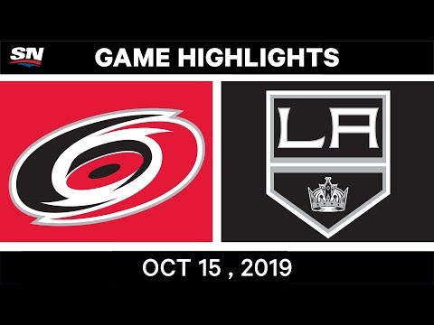 NHL Highlights  Hurricanes vs. Kings в Oct. 15, 2019