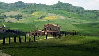Tuscany farm house for sale near Montalcino  |  Casale Toscana vendita Val d'Orcia