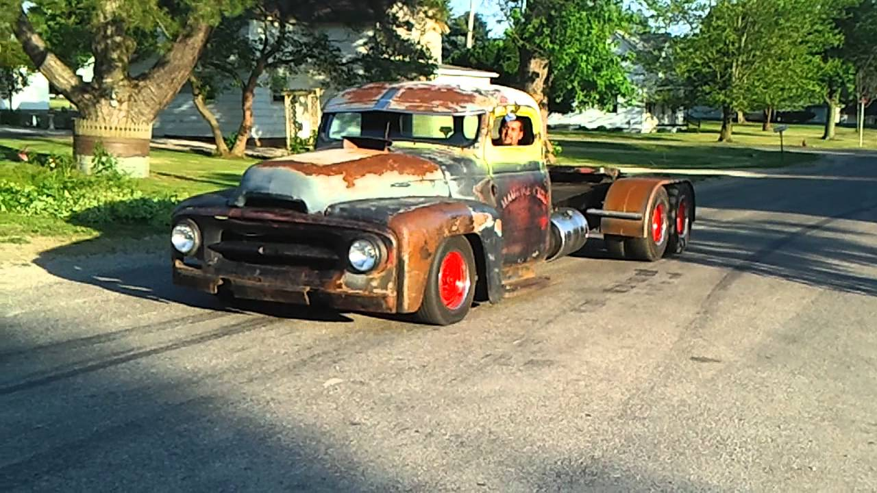 Dodge Dually For Sale >> rat rod old school diesel mini semi powerstroke - YouTube