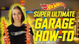 How to Assemble The Super Ultimate Garage | Hot Wheels
