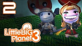 LittleBigPlanet 3 - Прохождение игры на русском - Кооператив [#2] PS4