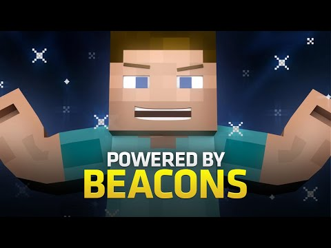 powered By Beacons - A Minecraft Parody Of Bruno Mars' Locked Out Of Heaven (music Video) video