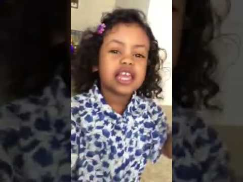 Ethiopia Cute Kid Singing and Dancing (kuku Sebsibe -Sebebe)