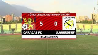 CARACAS FUTBOL CLUB VS LLANEROS DE GUANARE