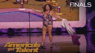 Vicki Barbolak: Comedian Transforms Finale Into Swimsuit Contest - America