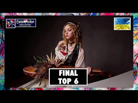 TOP 6 | VIDBIR 2020 - FINAL | EUROVISION SONG CONTEST 2020 | UKRAINE