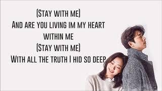 Stay With Me Chanyeol & Punch   Ysabelle Cuevas English Goblin OST   Lyrics