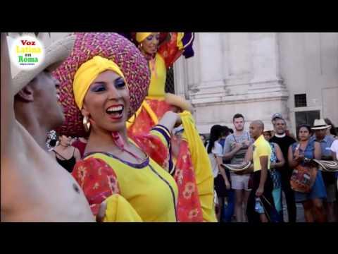 Voz Latina presenta las Fiestas Patrias de Colombia 2016 Roma