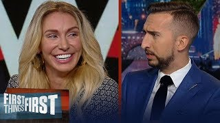 Charlotte Flair talks being 'the best athlete in WWE', SmackDown tag team match | FIRST THINGS FIRST