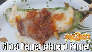 Infinity Sauces Ghost Pepper Jalapeno Popper Review - Oozefest 3