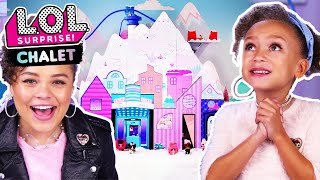 UNBOXED! | LOL Surprise! Winter Disco Chalet | Season 4 Episode 15