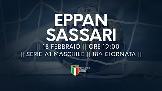 Serie A1M [18^]: Eppan - Sassari 24-26
