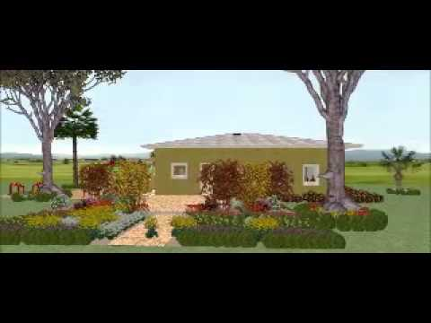 Plan en video en 3d maison de 100m2 gr construction for Construction maison en 3d