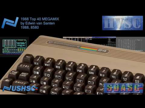 1988 Top 40 MEGAMIX - Edwin van Santen - (1988) - C64 chiptune