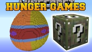 Minecraft: EASTER HUNGER GAMES - Lucky Block Mod - Modded Mini-Game